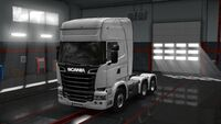 Scania Chassis 6x4