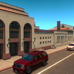 Amtrak Rail Station