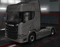 Scania R urban grey metallic