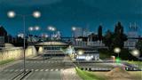 Łódź nightview