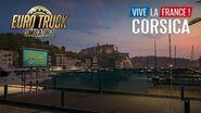 Corsica A free addition to ETS2 Vive la France!