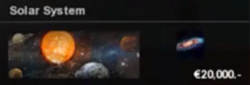 Solar system preview