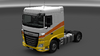 Daf xf euro 6 paint sunrise