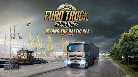 Euro Truck Simulator 2 - Beyond the Baltic Sea DLC