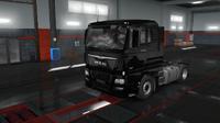 MAN TGX Euro 6 black