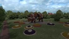 Ventspils flower cow