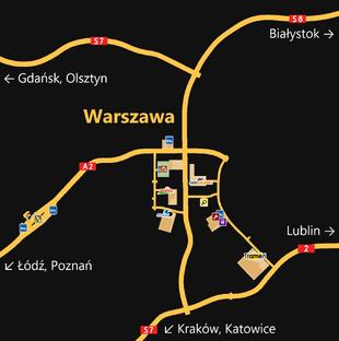 ETS 2 Karte
