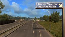 Aire de Thionville Porte de France