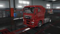 MAN TGX Euro 6 red