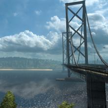 UK Forth Road Bridge 220