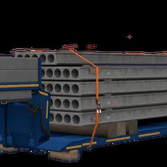Concrete Beams (51 t / 112,501 lb)