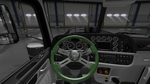 Steering Wheel Classic Green Carbon