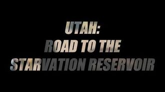 Utah Road to the Starvation Reservoir