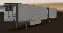ATS Reefer 3000R Trailer Double long