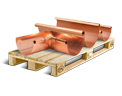 Cargo icon Copper roof gutters