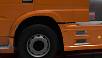 Daf xf euro 6 front fender stock