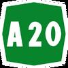 Italy A20 shield
