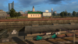 Leipzig railyard