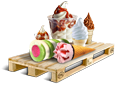 Cargo icon Ice cream