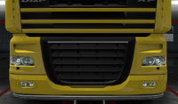 Daf xf 105 lower grille guard mirage