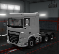 Daf xf euro 6 snow white