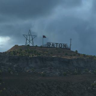 Raton Sign