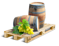 Cargo icon Empty wine barrels