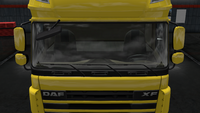 Daf xf 105 main mirror paint