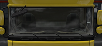 Daf xf 105 plate daf emblem led