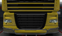 Daf xf 105 lower grille guard dragonfly