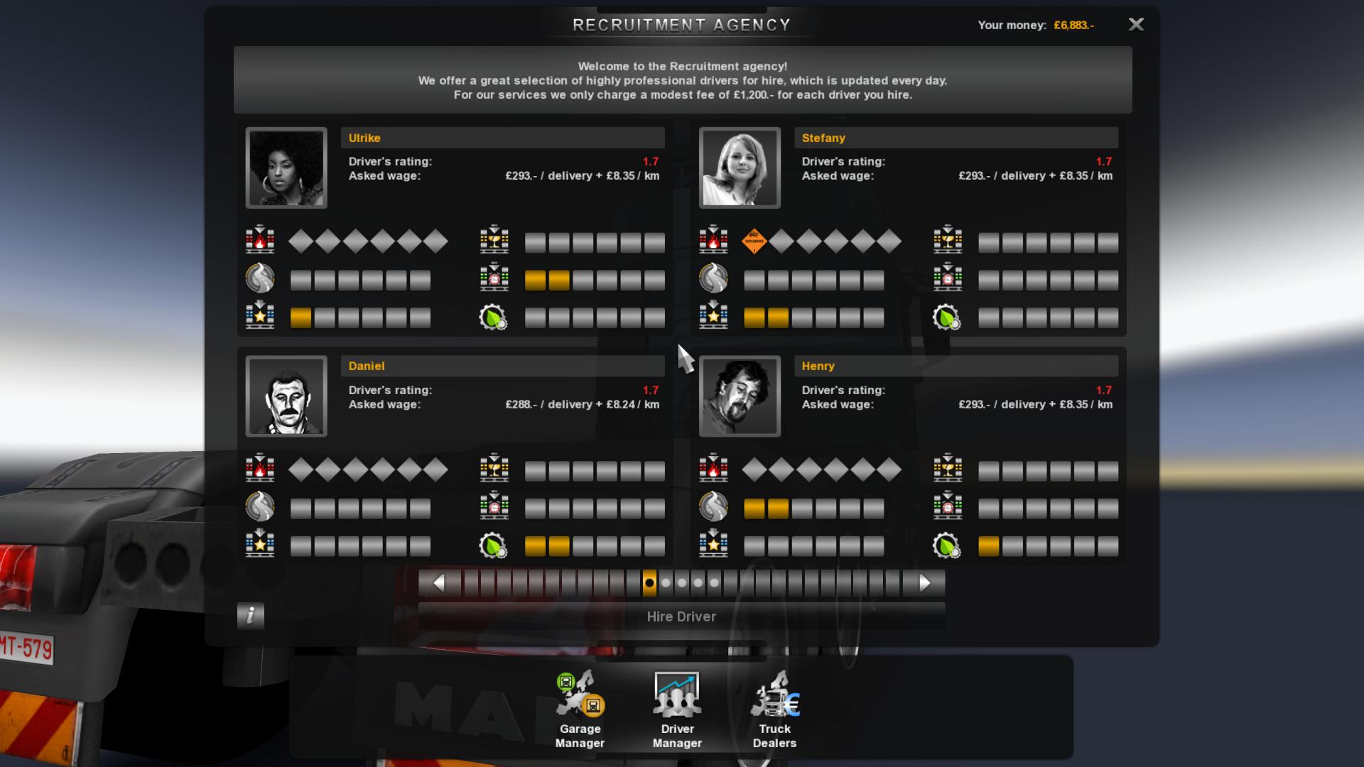 Recruitment Agency Truck Simulator Wiki Fandom Powered By Wikia