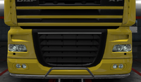 Daf xf 105 lower grille guard accent