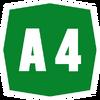 Italy A4 shield