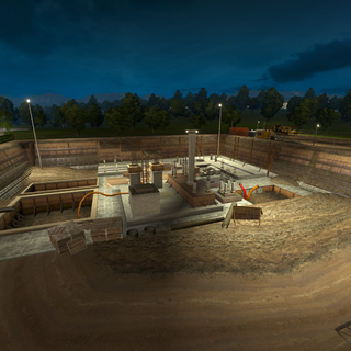 The Konstnorr construction site