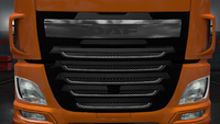 Daf xf euro 6 front mask stock facelift