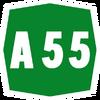 Italy A55 shield