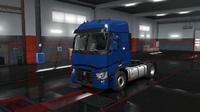 Renault T blue