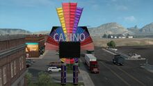 West Wnedover Rainbow Casino Sign
