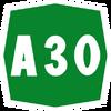 Italy A30 shield