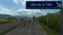 Aire de la Tille