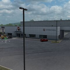 International Trucks dealership in Bellingham, WA