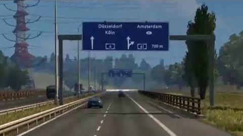Euro Truck Simulator 2 - Germany A61