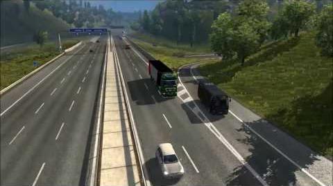 Euro Truck Simulator 2 - British M1