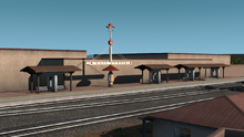 Santa Fe Central Station