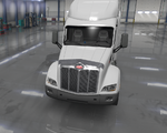 Peterbilt 579 Metal Deflector Sharp