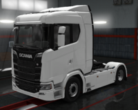 Scania S cabin normal roof