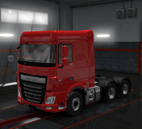 Daf xf euro 6 passion red