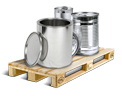Cargo icon Metal cans