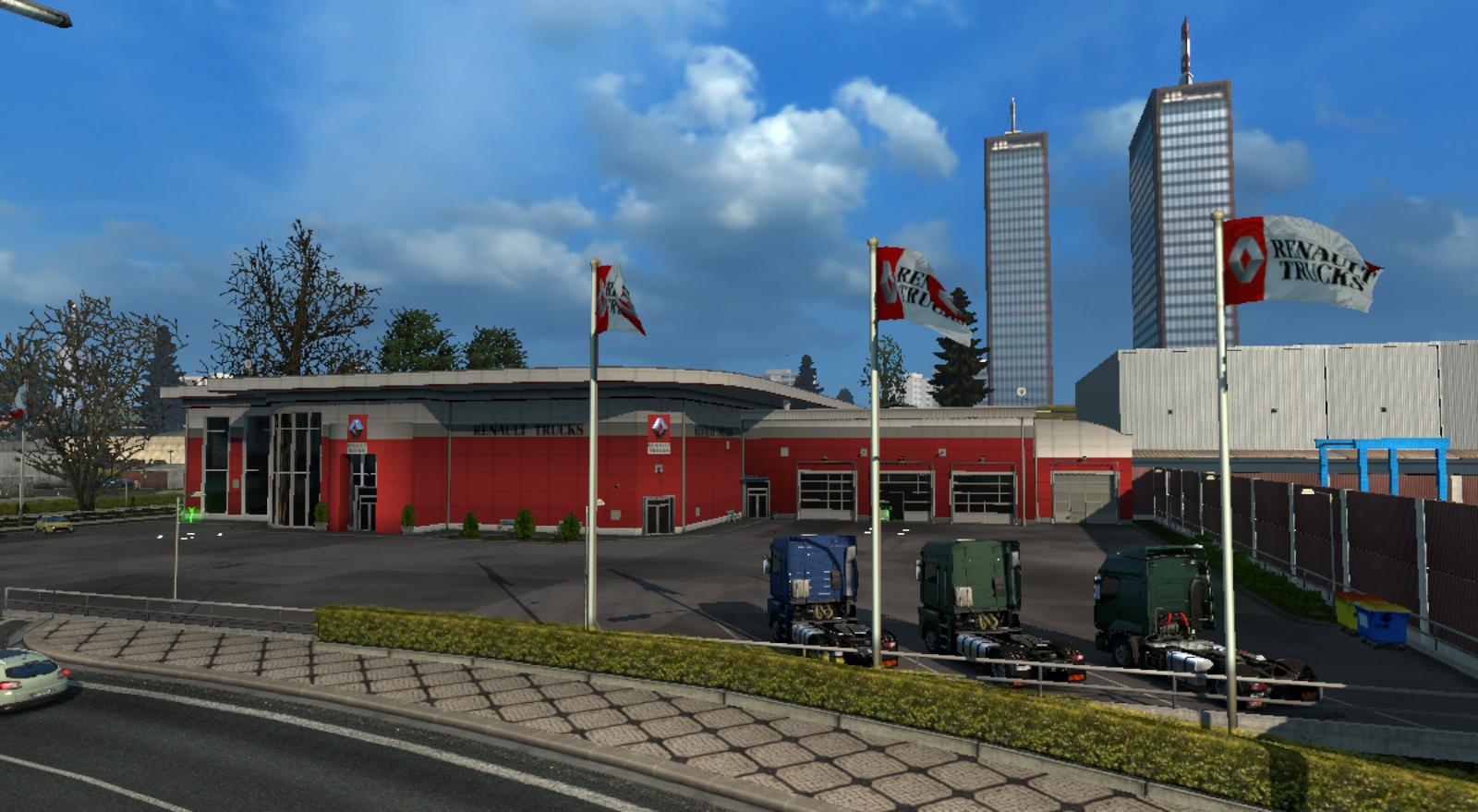 Euro Truck Simulator 2 Truck Dealers Truck Simulator Wiki Fandom