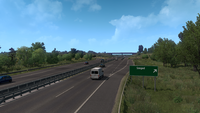 Hungary M43 Szeged exit in ETS2